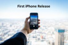 first iphone release