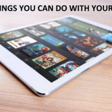 5 things you can do with your ipad