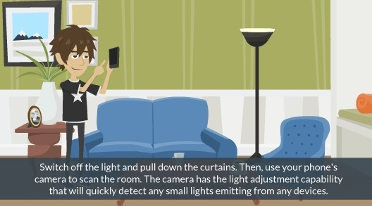 Find Hidden Cameras With Iphone