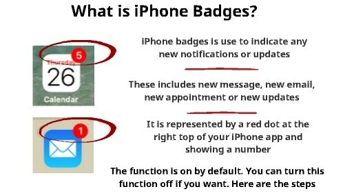 What are iPhone Badges (And How to Turn it Off) | My Smart