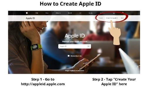 How to Create Apple ID 1