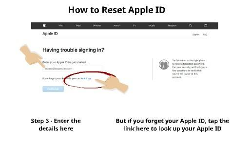 How to Reset Apple ID 2