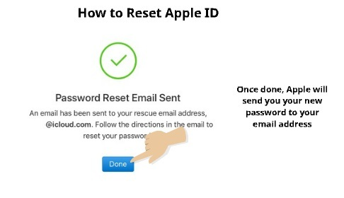 How to Reset Apple ID 4