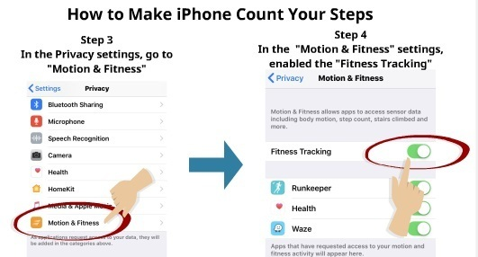 How to Make iPhone Count Your Steps 3