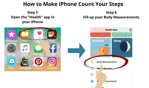 How to Make iPhone Count Your Steps 4