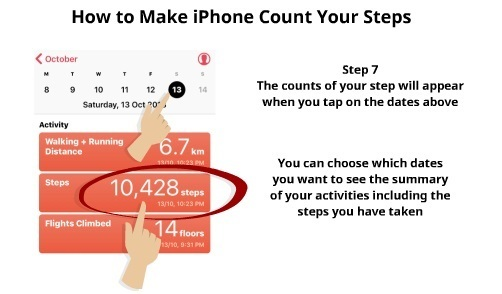 How to Make iPhone Count Your Steps 5