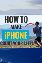 How to Make iPhone Count Your Steps - Pinterest