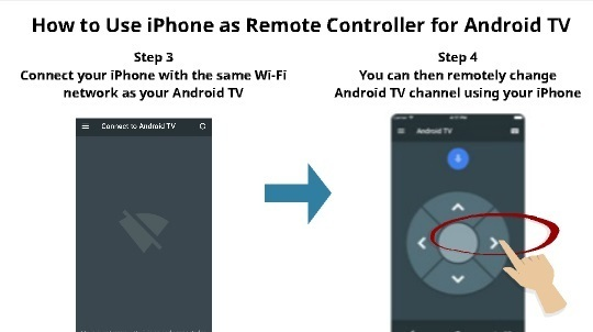 How to use iPhone as Android TV Remote 2
