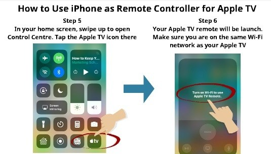 How to use iPhone as TV Remote 4