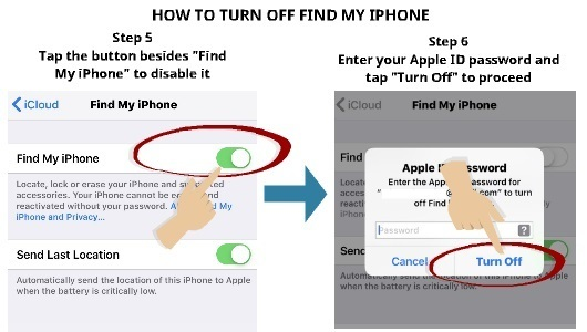 How to Turn Off Find My iPhone (And Be Invisible) | My Smart