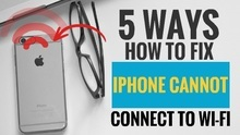 5 Ways How to Fix iPhone cannot Connect to Wi-Fi   My Smart