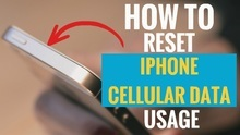 How to Reset iPhone Cellular Data Usage