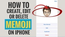 How to create, edit or delete memoji on iPhone