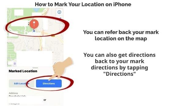 How to Mark Your Location on iPhone