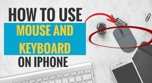 How to Use Mouse and Keyboard on iPhone