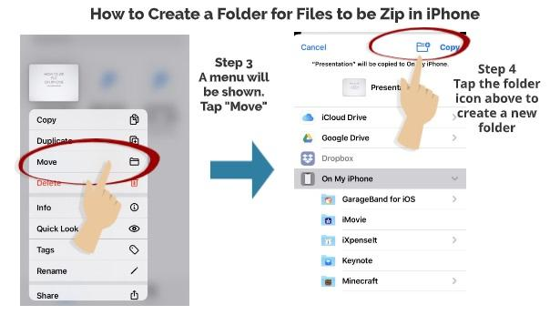 How to Create Folder for Files in iPhone 1