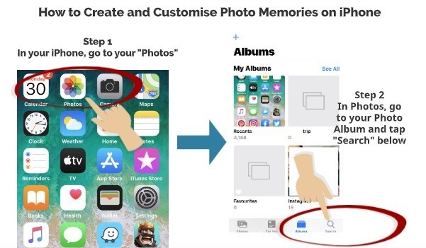 How to create and customise photo memories on iPhone 1