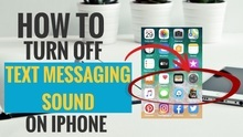 How to Turn Off Text Messaging Sound on iPhone