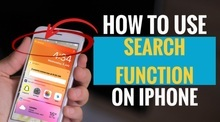 How to Use Search Function on iPhone