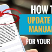How to Update iOS manually for your iPhone