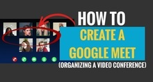 How to Create a Google Meet Session