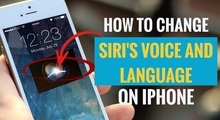 How to Change Siri Voice and Language on iPhone